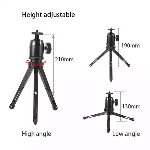 Mini portable table desktop selfie stick tripod stand monopod mount base support holder for camera smartphone movie vlog