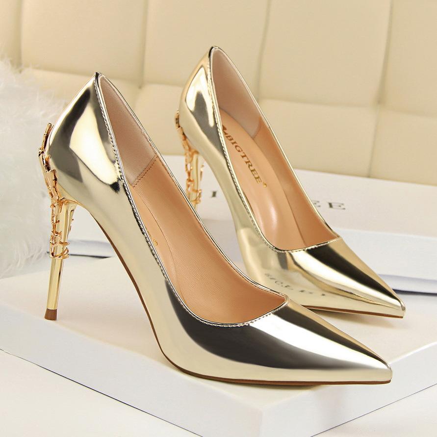 European quality women sexy high heels stiletto heel shoe ladies dress shoes