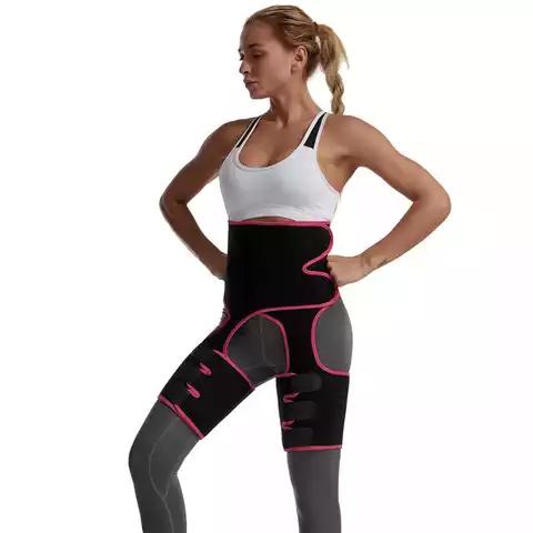 Woman Belt Chain Elastic Trainer Waist Trimmer