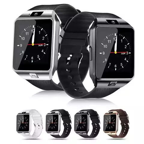 New Smart Watch DZ09 With Camera BT WristWatch SIM Card Smartwatch