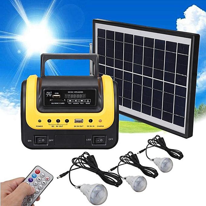 Solar System Home Generator  Power Supply